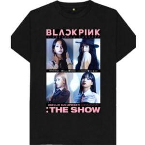 BLACKPINK THE SHOW SHIRT merch Include Blackpink photocard T Shirt The Show min
