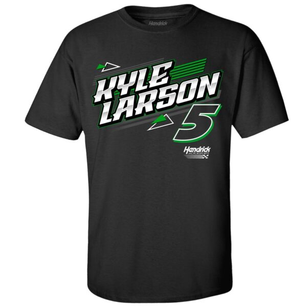 Mens Kyle Larson Hendrick Motorsports Team Collection Black Nations Guard Car 2 Spot T Shirt 2021 min