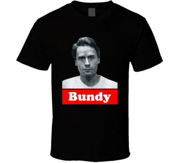 Ted Bundy Serial Killer Burn Bundy Burn Vintage Shirt Netflix T Shirt min