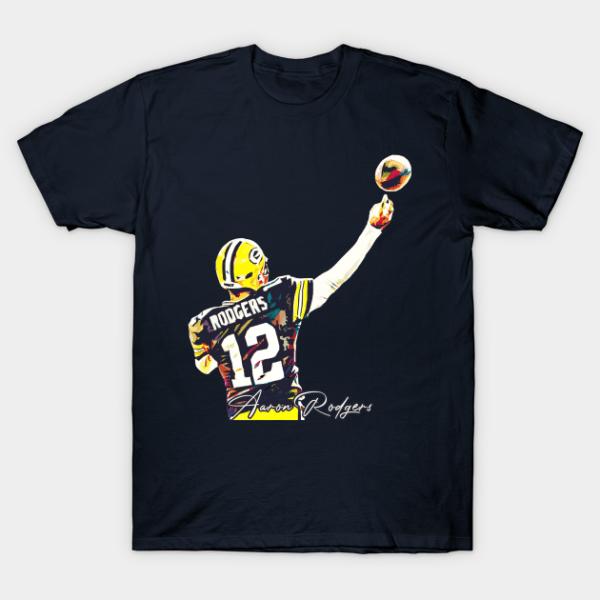 Aaron Rodgers Shirt Hoodies Short Sleeve Tee Shirt min