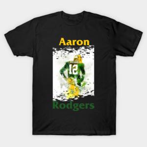 Aaron Rodgers T Shirt Hoodies Short Sleeve Tee Shirt min