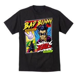 Bad Bunny x Royal Rumble 2021 Women and Men T Shirt min