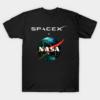 Nasa X SpaceX Classic T Shirt for Women and Men min