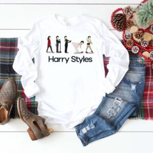 The Evolution Of Harry Styles shirt Harry Holmes Chapel Classic T Shirt min