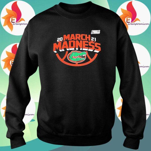 2021 NCAA March Madness Florida Gators Essential Unisex T Shirt 4