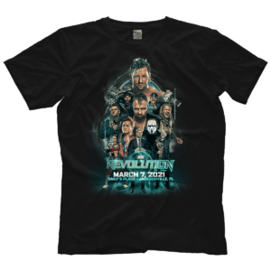 AEW Revolution 2021 Essential T Shirt