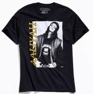 Aaliyah Vintage 90s Essential Unisex T Shirt 1