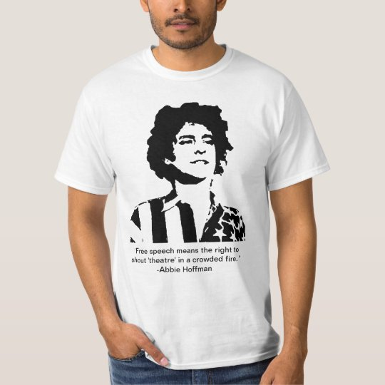 Abbie Hoffman Classic T Shirt min