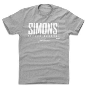 Anfernee Simons Portland Elite Essential T Shirt 3