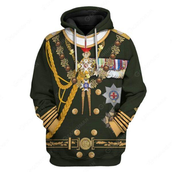 Gearhumans Hoodie Custom Prince Philip Appare Essential Unisex T Shirt