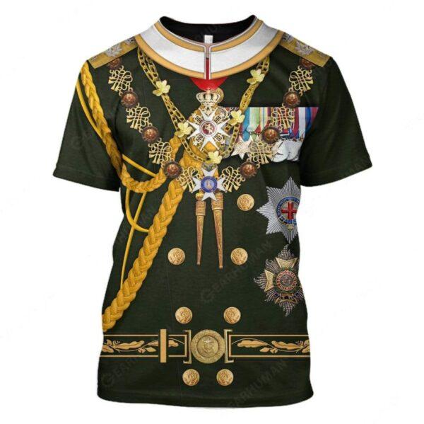 Gearhumans Hoodie Custom Prince Philip Apparel Essential Unisex T Shirt 2