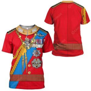 Gearhumans Hoodie Custom Prince Phillip Apparel Essential Unisex T Shirt 2