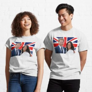 HRH Prince Harry and Meghan Markle Essential Sweater T Shirt