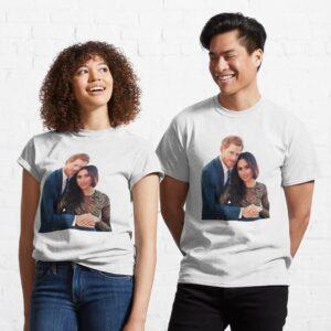 Harry et Meghan Essential Sweater T Shirt