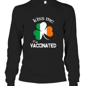 Kiss Me Im Vaccinated Essential Sweater T Shirt 3