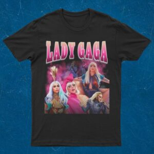 Lady Gaga Vintage 90s Classic T Shirt min