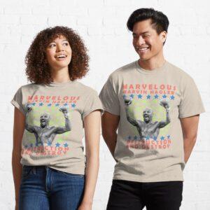 Marvelous Marvin Hagler Destruction and Destroy Classic T Shirt min