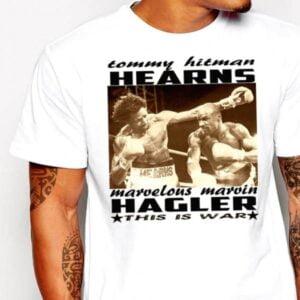 Marvin Hagler Vs Tommy Hearns Essential T Shirt