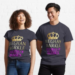Meghan Markle Duchess of Sussex Essential Sweater T Shirt