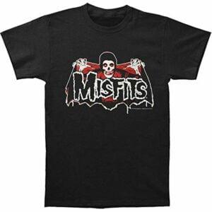 Misfits Batfiend Red Classic T Shirt
