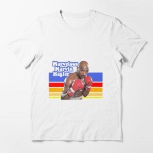 Retro Marvelous Marvin Hagler Good Quality Cotton Essential T Shirt 2