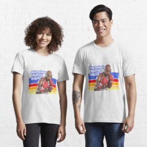 Retro Marvelous Marvin Hagler Good Quality Cotton Essential T Shirt