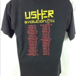 Vintage 2002 Usher Classic T Shirt 2 min