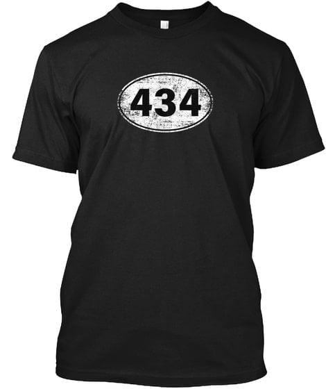 434 Virginia Area code Classic Unisex T Shirt 2 min