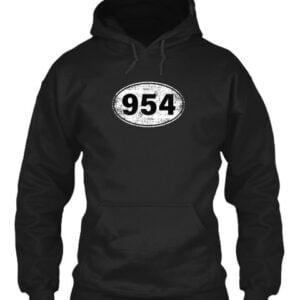 954 Florida Area Code Classic T Shirt 2 min