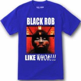 BLACK ROB T SHIRT LIKE WHOA WHITEBLACK HOODE S 5XL GOOD COTTON 2 min