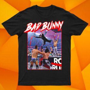 Bad Bunny Royal Rumble Splash Hoodie T Shirt Full S 6XL min