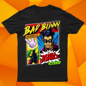 Bad Bunny x Royal Rumble 2021 Hoodie Special Edition T Shirt Full S 6XL min