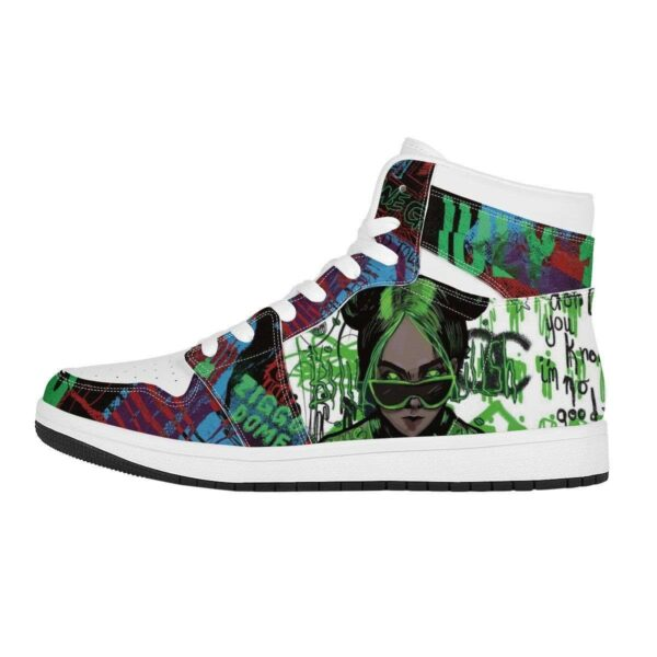 Bad Guy High Top Air Jordan Sneaker 4