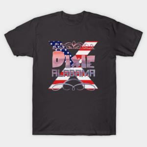 Dixie Alabama White T Shirt S 5XL Good Cotton min