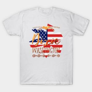 Dixie Washington White T Shirt S 5XL Good Cotton min