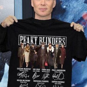 Helen McCrory Peaky Blinders All Cast Signatures Classic T Shirt