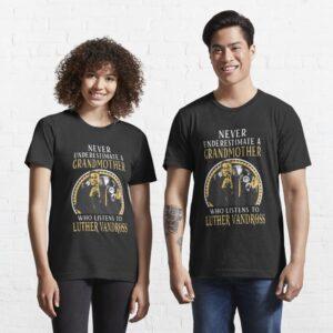 Luther Vandross Never Underestimate Classic Unisex T Shirt 2 min