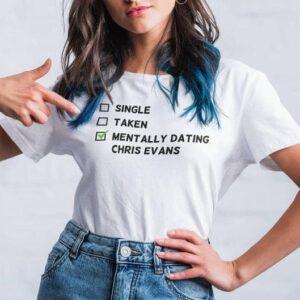 Mentally dating Chris Evans Classic Unisex T Shirt min