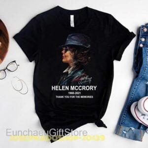 Rip Helen Mccrory 1968 2021 Black Unisex T Shirt