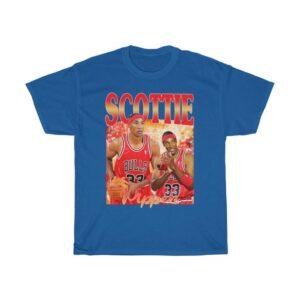 Scottie Pippen retro vintage 90s T Shirt S 6XL 2 min