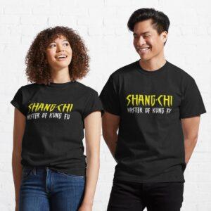 Shang Chi Master Of Kungfu Classic T Shirt min