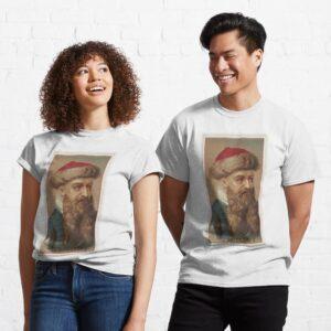 Vintage Johannes Gutenberg Illustration 1888 Classic Unisex Hoodie T Shirt min