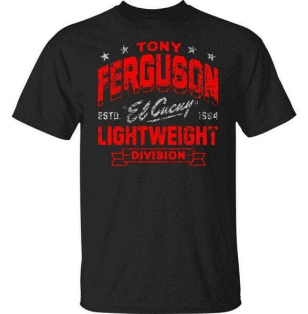 1984 Vintage Tony Ferguson Lightweight Division UFC Classic Unisex T Shirt