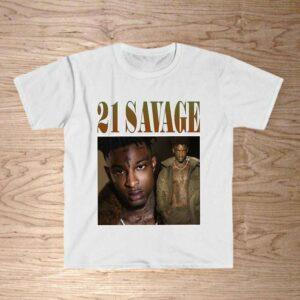 21 Savage Vintage 90s Rap Style Classic Unisex T Shirt