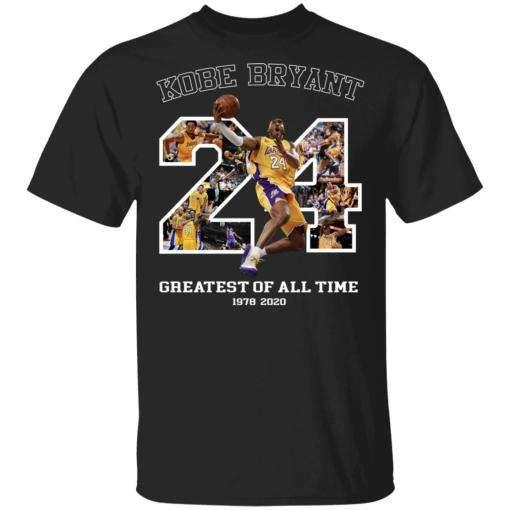 24 Kobe Bryant Greatest Of All Time Signature Classic Unisex T Shirt