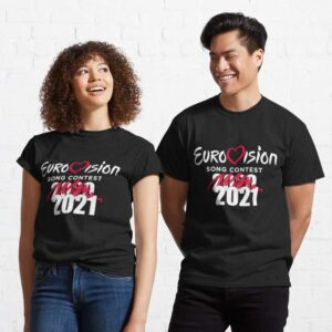 Eurovision Song Contest 2020 Cancelled 2021 Classic Unisex T Shirt