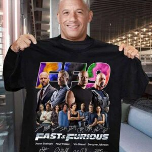 Fast and Furious 9 Signature Classic Unisex T Shirt