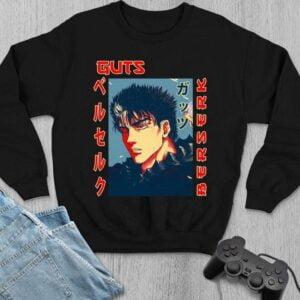 Kentaro Miura Funny Design Berserk Anime Manga Character Classic Unisex T Shirt