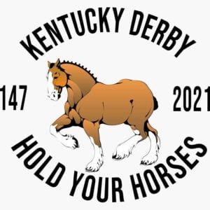 Kentucky Derby Day 147 2021 Decorative Sticker