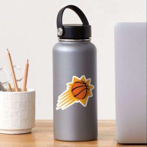 Suns Phoenix Basketball Decorative Sticker